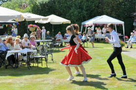 Charity Garden Party Success