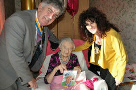 Bournemouth's oldest resident celebrates 108th birthday